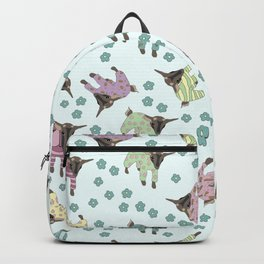 Pajama'd Baby Goats - Blue Backpack