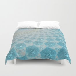 Ice Palace Fractal Art Duvet Cover