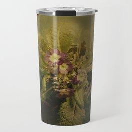 Little Winter Flower Travel Mug