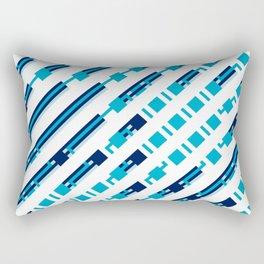 Artis 1.0, No.39 in Warm Blue Rectangular Pillow