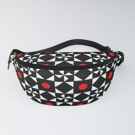 optical pattern 31 Fanny Pack