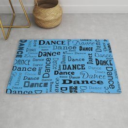 Just Dance - Blue Rug