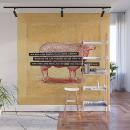 Like Sheep Wall Mural