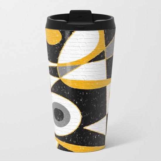 Abstract #385 Wall Art Metal Travel Mug