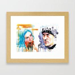 You know me Framed Art Print