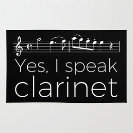 Yes, I speak clarinet Rug