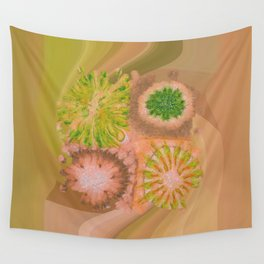 Murdering Nature Flowers  ID:16165-102100-72860 Wall Tapestry