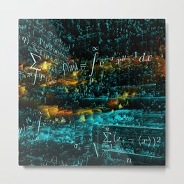 mathematical art Metal Print