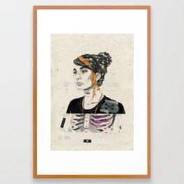 Corpo Framed Art Print