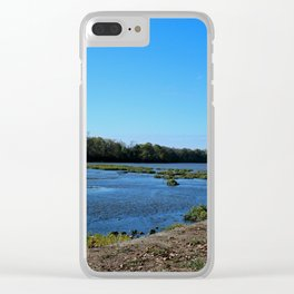 Private Memorial Clear iPhone Case