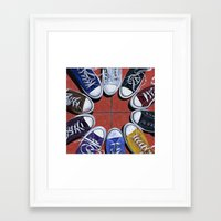 shoes Framed Art Prints featuring Shoes by Giorgio Arcuri