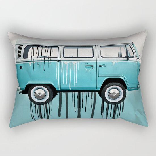 kombie 2 tone paint job Rectangular Pillow