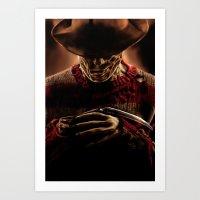 freddy krueger Art Prints featuring Freddy Krueger by Duke78