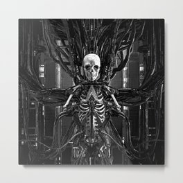 The Quantum Reaper Metal Print