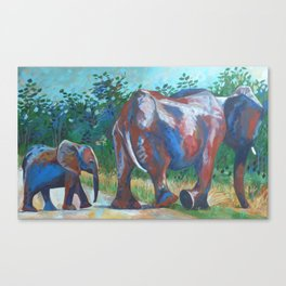 True Path Canvas Print