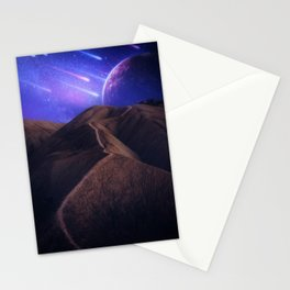 It's Raining Comets by GEN Z Stationery Cards