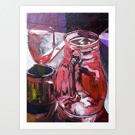 A Series of Wedding Dancer Still-Life Paintings 4. Art Print