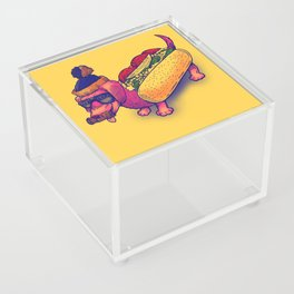 Chicago Dog Acrylic Box