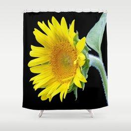 Small Sunflower Shower Curtain