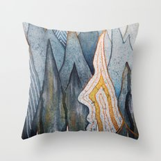 Pulse 3 Throw Pillow