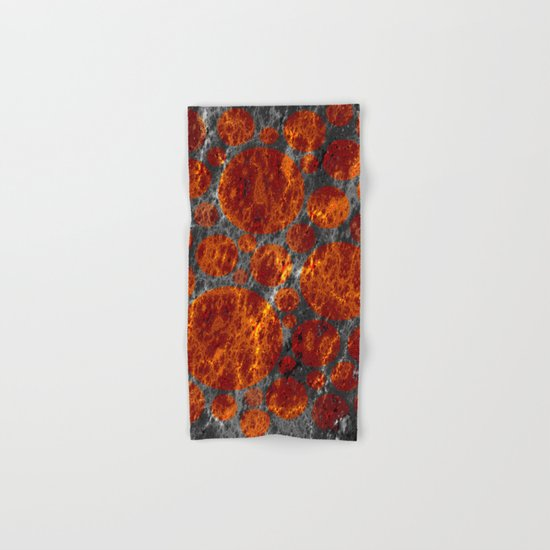 red dwarf region Hand & Bath Towel