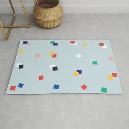 Here and Square Pattern Rug
