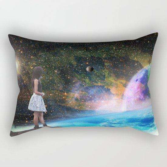 Mind Quake Rectangular Pillow