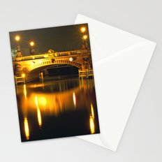Moltke-Bridge at the river Spree in Berlin Stationery Cards
