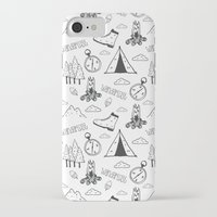 wanderlust iPhone & iPod Cases featuring Wanderlust by Tracie Andrews