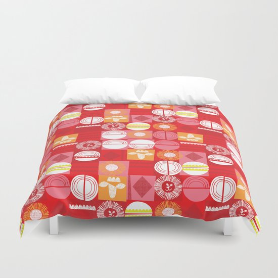 lions and lambs-oh my! Duvet Cover