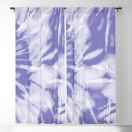 lavender blue tie dye Blackout Curtain