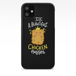 Funny Chicken Nugget Nug Life Fast-Food Junk Gift iPhone Case