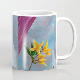 Victorian Forsythia Coffee Mug