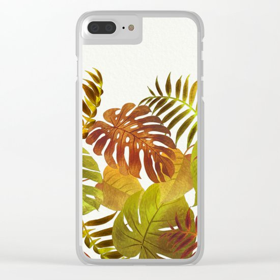 My Tropical Garden 19 Clear iPhone Case