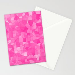 Geometric Shapes Fragments Pattern 2 mag Stationery Cards