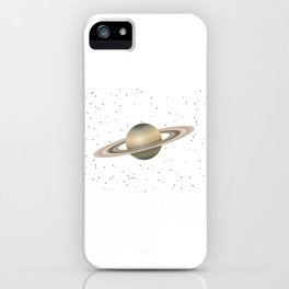 Planet Satrun iPhone Case