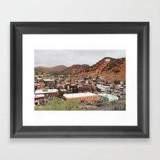 Bisbee, Arizona Framed Art Print