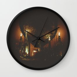 night time visions. Wall Clock