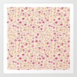 Botanical: Beige Vine Art Print
