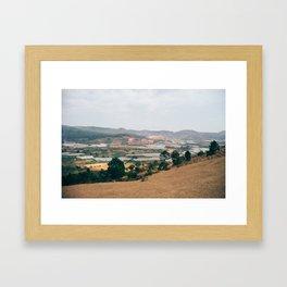 Da Lat mountain Framed Art Print