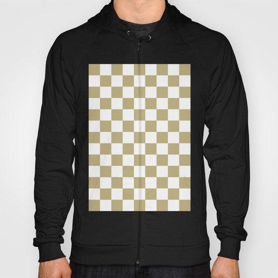 Checker (Sand/White) Hoody