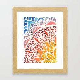 Sunny Morning Framed Art Print