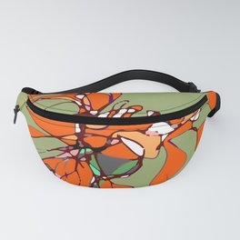 Autumn Olive Gerbera Fanny Pack