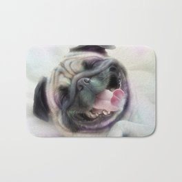 Happy Puggy Bath Mat