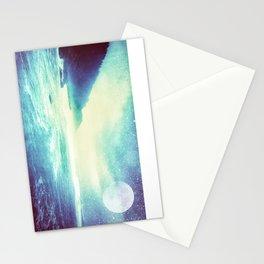 Moonrise Shore Stationery Cards