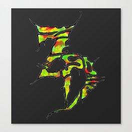 Zeds Dead Rasta Canvas Print