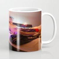 trip Mugs featuring trip by William Reynolds