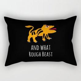 What Rough Beast Rectangular Pillow