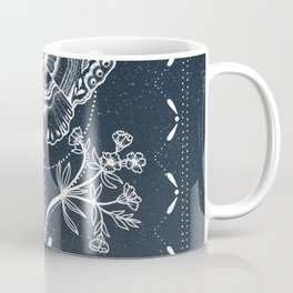 Magical Moth White Coffee Mug