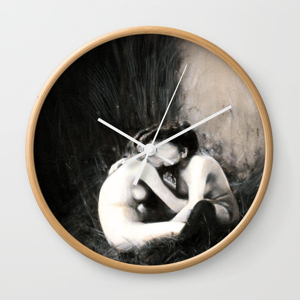 I Melt With You Wall Clock by Baddanielle CLK8597687